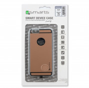 4smarts Hover Clip Wireless Qi Receiver Case - кейс за безжично зареждане на iPhone 6, iPhone 6S (златист) 6