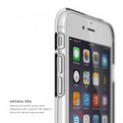 Elago Core Case - хибриден кейс (полипропилен + PC) и HD покритие за iPhone 6S, iPhone 6 (бял) 4