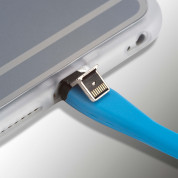 4smarts Hover Clip Wireless Qi Receiver Case - кейс за безжично зареждане на iPhone 6, iPhone 6S (сив) 5