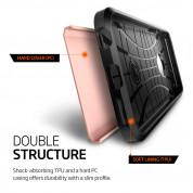 Spigen Tough Armor Case - хибриден кейс с най-висока степен на защита за iPhone 6, iPhone 6S (розово злато) 2