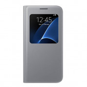 Samsung S-View Cover EF-CG930PSEGWW for Samsung Galaxy S7 (silver)