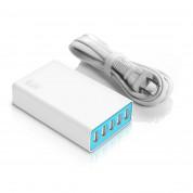 iLuv RockWall5 Portable 5 USB Port Charger - захранване с 5 USB изхода за мобилни телефони и таблети 3