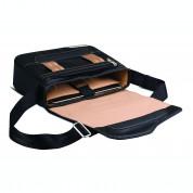 Be.ez LE reporter Metro Roppongi Avenue - чанта с презрамка за iPad и таблети до 10.2 инча (черен-розов) 3