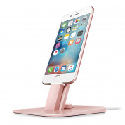 TwelveSouth HiRise Deluxe Desktop stand for iPhone and iPad (rose gold)