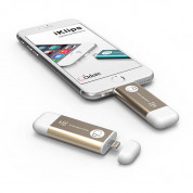 Adam Elements iKlips Lightning 32GB - външна памет за iPhone, iPad, iPod с Lightning (32GB) (златист) 2
