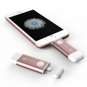 Adam Elements iKlips Lightning 32GB - външна памет за iPhone, iPad, iPod с Lightning (32GB) (розово злато) 2
