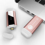 Adam Elements iKlips Lightning 32GB - външна памет за iPhone, iPad, iPod с Lightning (32GB) (розово злато) 3