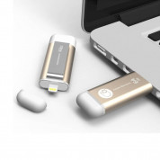 Adam Elements iKlips Lightning 64GB - външна памет за iPhone, iPad, iPod с Lightning (64GB) (златист) 2