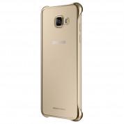 Samsung Protective Clear Cover EF-QA510CFEGWW - оригинален кейс за Samsung Galaxy A5 (2016) (прозрачен-златист)