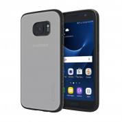 Incipio Octane Case - удароустойчив хибриден кейс за Samsung Galaxy S7 (прозрачен-черен)