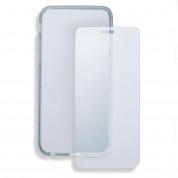 4smarts 360° Protection Set - тънък силиконов кейс и стъклено защитно покритие за дисплея на iPhone SE, iPhone 5S, iPhone 5 (прозрачен) 1