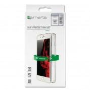 4smarts 360° Protection Set - тънък силиконов кейс и стъклено защитно покритие за дисплея на iPhone SE, iPhone 5S, iPhone 5 (прозрачен) 5