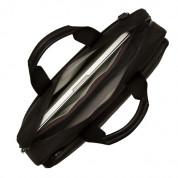 Knomo Maxwell 15 Slim Briefcase - унисекс чанта за преносими компютри до 15 инча (черна) 4