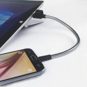 Fuse Chicken Titan Loop M - стоманен MicroUSB кабел (ключодържател) за устройства с MicroUSB (25 см.) 2