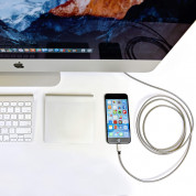 Fuse Chicken Armour Charge - стоманен Lightning кабел за iPhone, iPad, iPod с Lightning (2 метра) 2