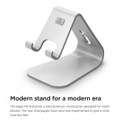Elago M2 Stand for smartphones (silver) 3