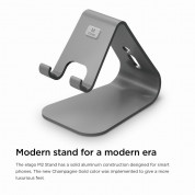 Elago M2 Stand for smartphones (dark gray) 6