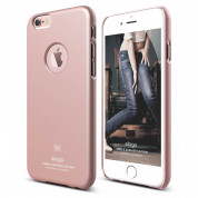 Elago S6 Slim Fit Case + HD Clear Film - case and screen film for iPhone 6, iPhone 6S (rose gold)