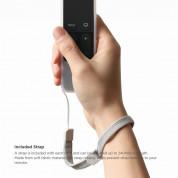Elago R1 Intelli Case - удароустойчив силиконов калъф за Apple TV Siri Remote (прозрачен) 6