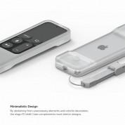 Elago R1 Intelli Case - удароустойчив силиконов калъф за Apple TV Siri Remote (прозрачен) 7