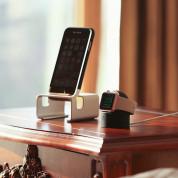 Elago W2 Watch Stand - силиконова поставка за Apple Watch (черна) 7