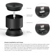 Elago D Stand Lightning Charging Station - док станция за iPhone, iPad mini, Siri Remote, Magic Mouse и Airpods (черна) 3