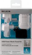 Belkin World Travel Kit - комплект захранвания, адаптери и кабели за iPhone, iPod и мобилни устройства 4