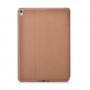 Comma Elegant Case - кожен калъф и поставка за iPad mini 4 (кафяв) 4