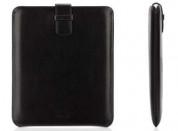 Griffin Elan Sleeve - кожен калъф с лента за издърпване за iPad 4, iPad 3, iPad 2 1