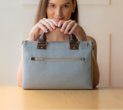 Moshi Urbana Mini Bag (Sky Blue) for MacBook 12 and tablets 7
