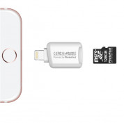 PhotoFast Lightning to MicroSD Card Reader CR-8800 - адаптер за microSD памет за iPhone, iPad, iPod с Lightning 1