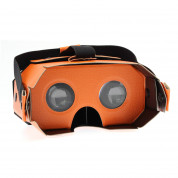 4smarts Basic Portable Universal VR Leather Glasses (orange) 1