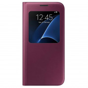 Samsung S-View Cover EF-CG930PXEGWW for Samsung Galaxy S7 (red)