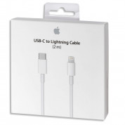 Apple Lightning to USB-C Cable MKQ42ZM/A 2m. - оригинален USB-C кабел към Lightning за Apple устройства с Lightning и/или устройства с USB-C (2 метра) (ритейл опаковка) 5
