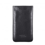 JT Berlin SlimCase Leather 2ML - кожен калъф (естествена кожа) за iPhone 6, iPhone 8, iPhone 7, Galaxy Alpha, Galaxy S5 mini, HTC One Mini 2 (черен) 2