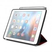 Prodigee Expert Case - кожен калъф, тип папка и поставка за iPad Pro 12.9 (червен) 4