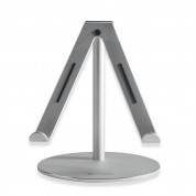 4smarts A-WING Stand - aluminium stand for iPad, tablets up to 12 in and Apple Watch 1