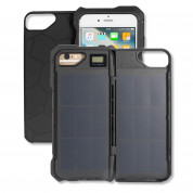 4smarts Miami Solar Power Case 2500 mAh - кейс с вградена батерия 2500 mAh и соларен панел за iPhone 8, iPhone 7, iPhone 6, iPhone 6S (черен)