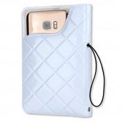 4smarts Waterproof Wallet Case Rimini - универсален водоустойчив калъф за смартфони до 6 инча (бял) 1