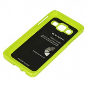 Mercury Goospery Jelly Case - силиконов (TPU) калъф за Samsung Galaxy J5 (2016) (лайм) 1