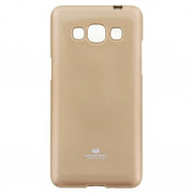 Mercury Goospery Jelly Case - силиконов (TPU) калъф за Samsung Galaxy J5 (2016) (златист)