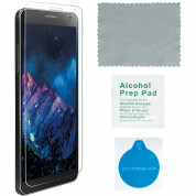 4smarts 360° Protection Set - тънък силиконов кейс и стъклено защитно покритие за дисплея на Samsung Galaxy J5 (2016) (прозрачен) 3