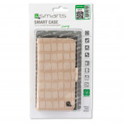 4smarts Ultimag Book Norwalk Case for smartphones up to 5.2 in. (croco beige) 3