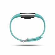 Fitbit Charge 2 Teal Silver - Large Wireless Activity and Sleep for iOS and Android 2