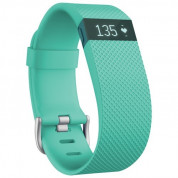 Fitbit Charge HR Teal Small Size Wireless Activity and Sleep for iOS and Android
