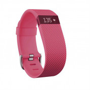 Fitbit Charge HR Large Pink Size Wireless Activity and Sleep for iOS and Android