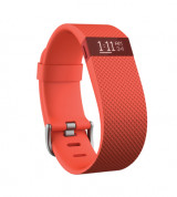 Fitbit Charge HR Tangerine Small Size Wireless Activity and Sleep for iOS and Android