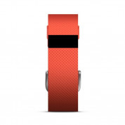 Fitbit Charge HR Tangerine Small Size Wireless Activity and Sleep for iOS and Android 2