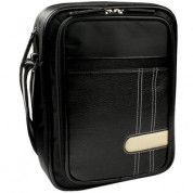 Krusell GAIA Netbook Bag - leather bag for iPad and Netbooks (black)