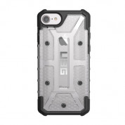 Urban Armor Gear Plasma - удароустойчив хибриден кейс за iPhone SE (2020), iPhone 8, iPhone 7, iPhone 6S, iPhone 6 (прозрачен)